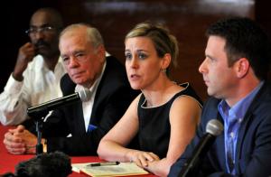 Empresarios agrícolas de EE.UU. en conferencia de prensa en La Habana
