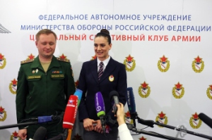 Isinbayeva se contrata con el CSKA  FOTO: http://direct-press.ru